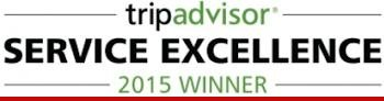 TripAdvisor Certificate of Service Excellence